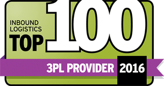 Inbound Logistics Top 100 - Commercial Warehousing 3PL Provider